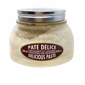 New L'Occitane Exfoliating & Smoothing Delicious Paste with Flaked Almonds 7 oz